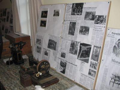 Industrimuseet i Horsens havde bidraget med gamle rekvisitter