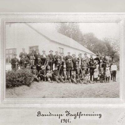 Gantrups jægere anno 1911