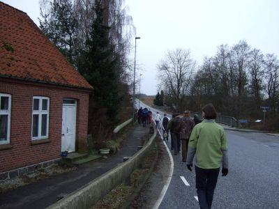 Til nabolandsbyen Voervadsbro